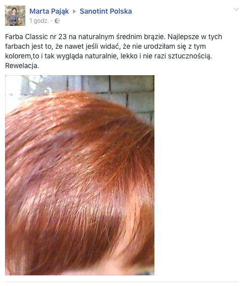 Facebook Sanotint opinie Zrzut ekranu 2016 09 17 o 10.39.03 - OPINIA PANI MARTY